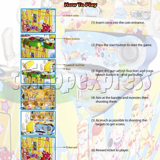 Crazy Shot Video Arcade Machine 31018