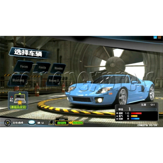 Overtake Arcade Driving Game 31042