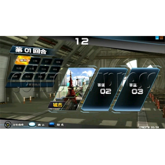 Overtake Arcade Driving Game 31044