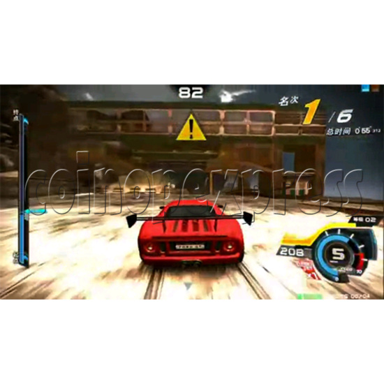 Overtake Arcade Driving Game 31053