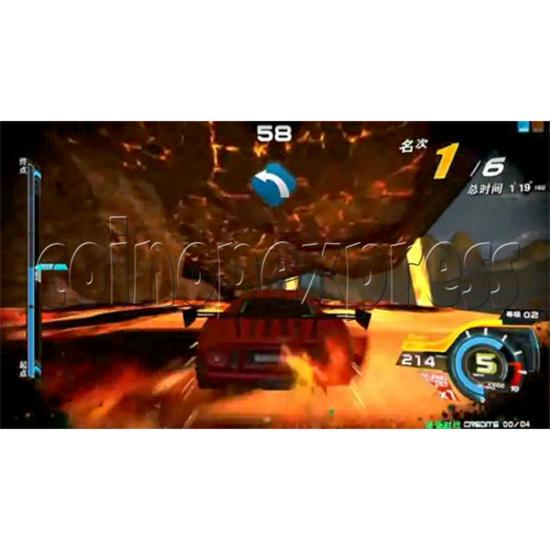 Overtake Arcade Driving Game 31054