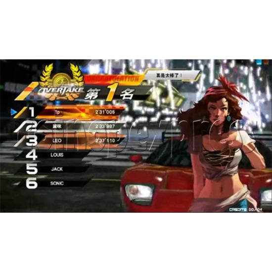 Overtake Arcade Driving Game 31055