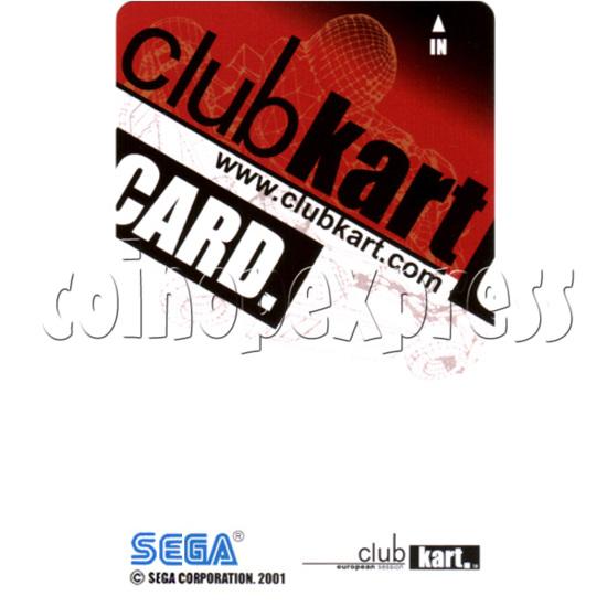 IC Card for Sega Club Kart: European Session 31074
