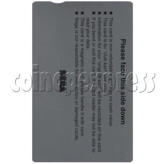 IC Card for Sega Club Kart: European Session 31075