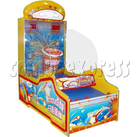 Noodle Bar Ball Toss Redemption Machine 31085
