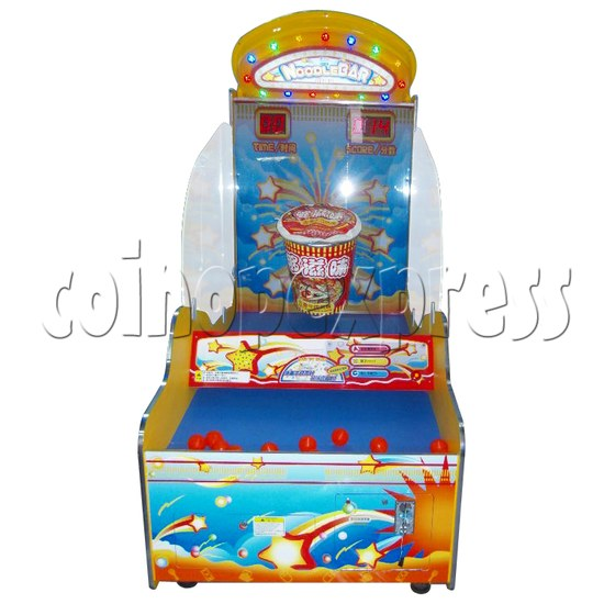 Noodle Bar Ball Toss Redemption Machine 31086