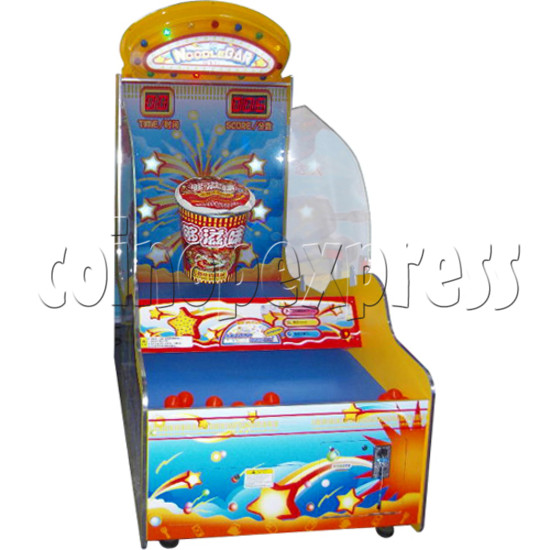 Noodle Bar Ball Toss Redemption Machine 31087