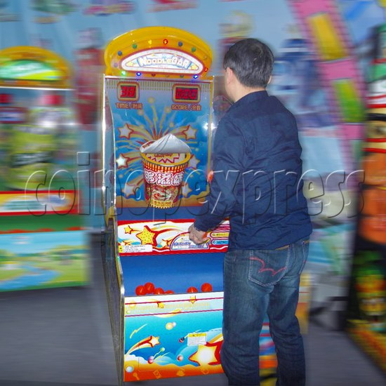 Noodle Bar Ball Toss Redemption Machine 31088
