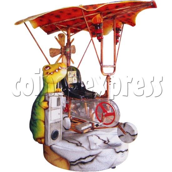Neanderthal Plane Kiddie Ride 31095