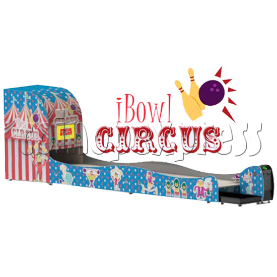 "I-Bowl Circus bowling machine (with 22"" LCD Screen)  31174"