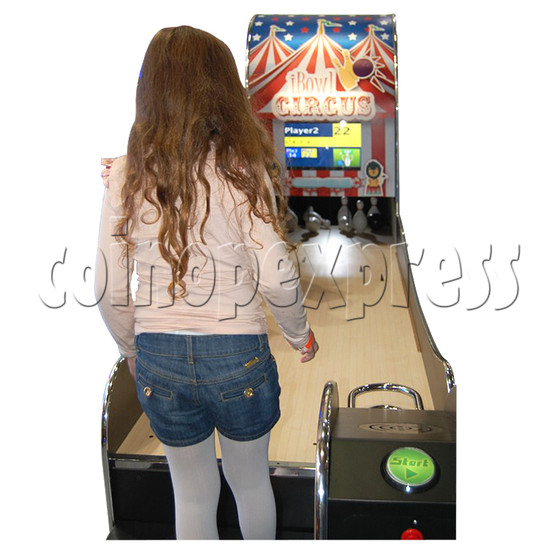 "I-Bowl Circus bowling machine (with 22"" LCD Screen)  31184"