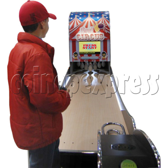 "I-Bowl Circus bowling machine (with 22"" LCD Screen)  31185"
