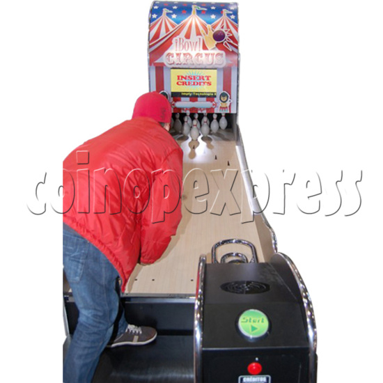 "I-Bowl Circus bowling machine (with 22"" LCD Screen)  31186"
