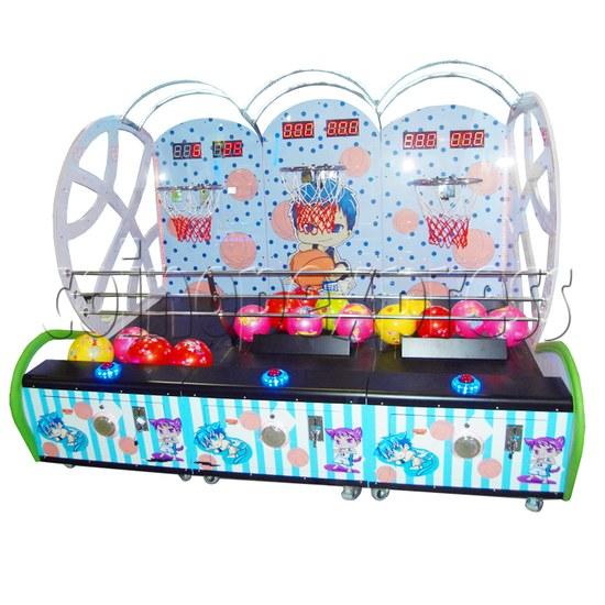 Mini Kids Basketball machine (3 hoops)  31335