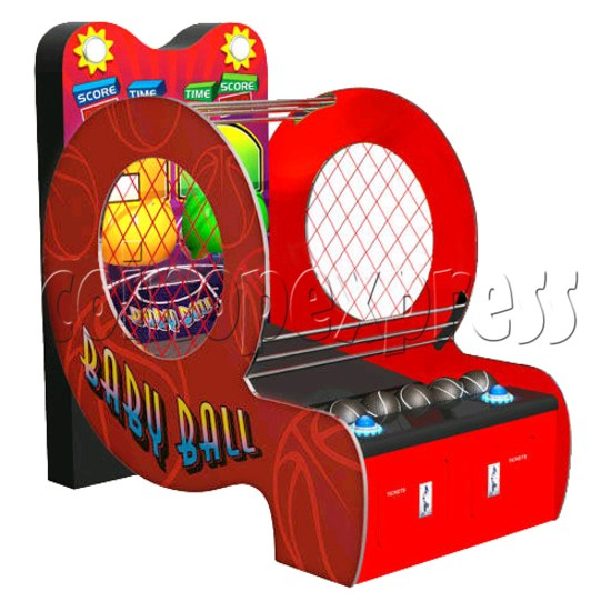 Baby Ball (2 hoops basketball machine)  31364