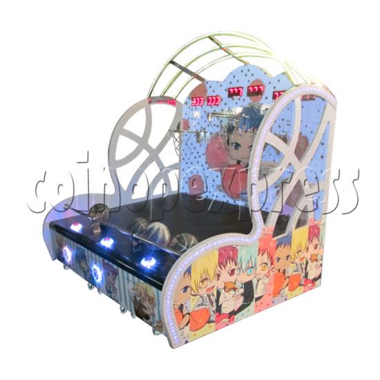Mini Kids Basketball machine (3 hoops)  31365