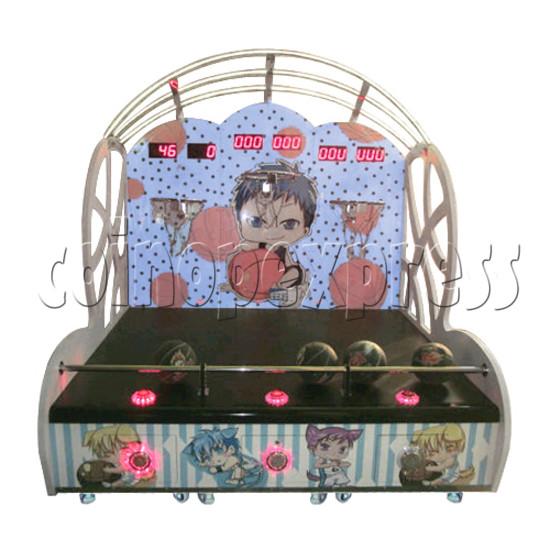 Mini Kids Basketball machine (3 hoops)  31366
