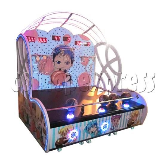 Mini Kids Basketball machine (3 hoops)  31367