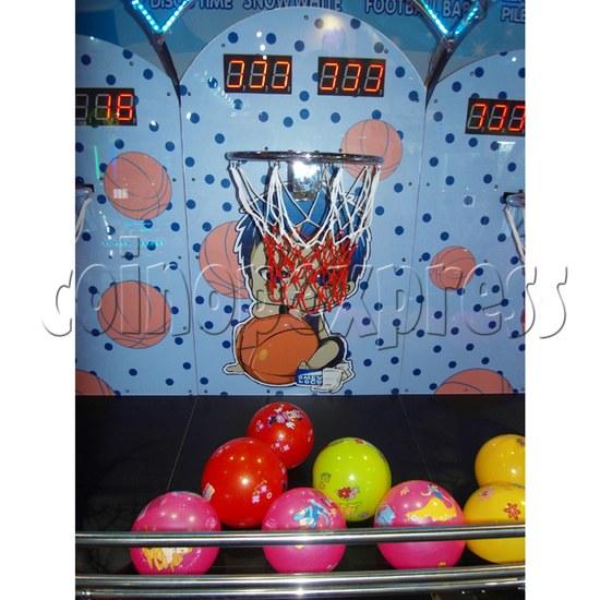 Mini Kids Basketball machine (3 hoops)  31368