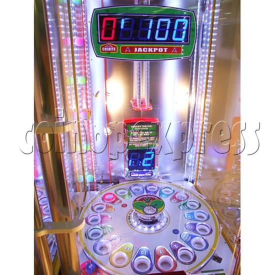 Monster Drop Ticket Redemption Arcade Machine 2 Players - playfield