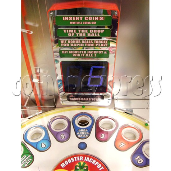 Monster Drop Ticket Redemption Arcade Machine 2 Players - how to play