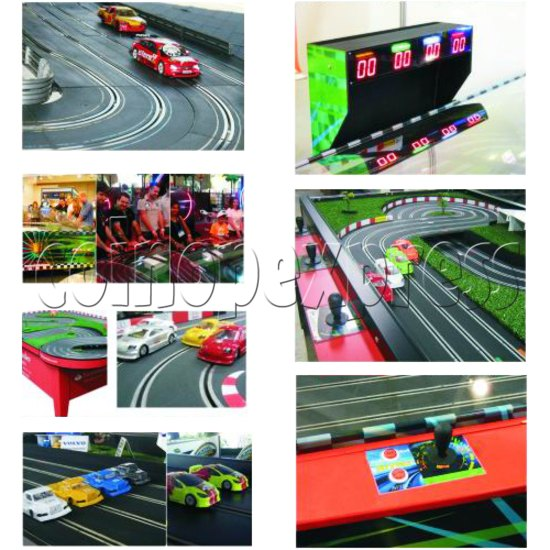 Table Slot Car Racing for kids ( 2 players) 31698