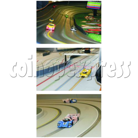 Table Slot Car Racing -Speed Fit ( 4 players) 31700