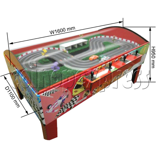 Table Slot Car Racing -Speed Fit ( 4 players) 31713