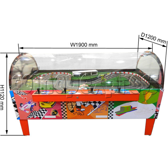 Table Slot Car Racing SD ( 4 players)   31717