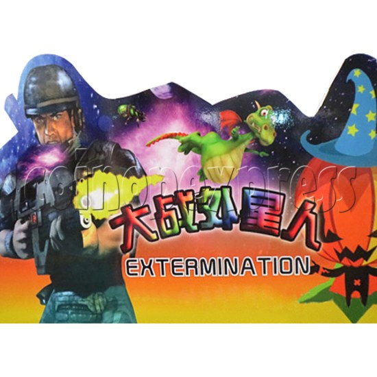Aliens Extermination Shooting machine for Kids 31762