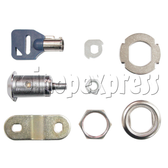 Circle Type Metal Door Lock With Key (28mm) 3179