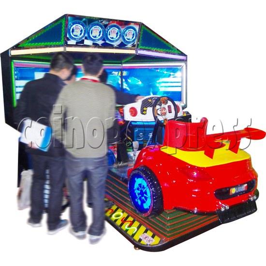3D Triple Screen Car Racing Simulator 32025
