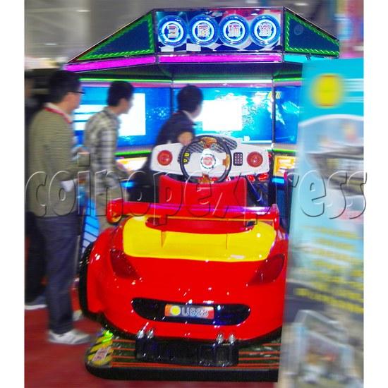 3D Triple Screen Car Racing Simulator 32026