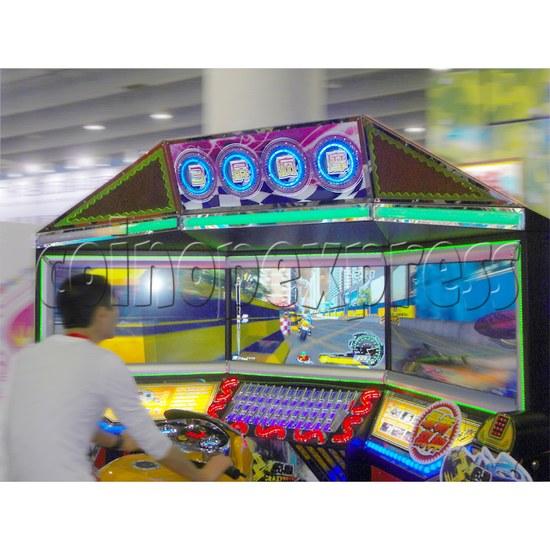 3D Triple Screen Motorbike Racing Simulator 32029