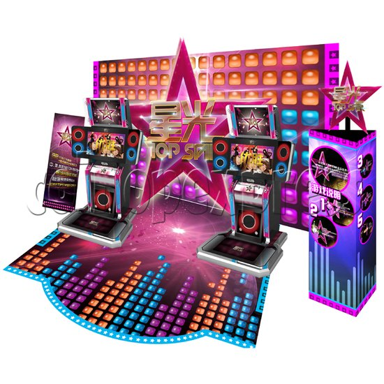 Top Star Multi-Touch Music Game Machine 32229