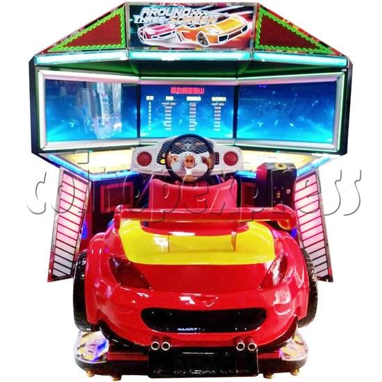 3D Triple Screen Car Racing Simulator 32412