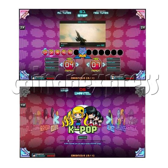 Pump It Up 2015 Edition Full Game Board Kit - artwork 32597