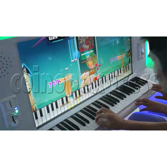 Dream of Piano Music Game Machine 32713