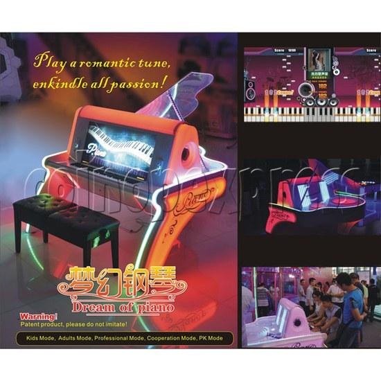 Dream of Piano Music Game Machine 32714