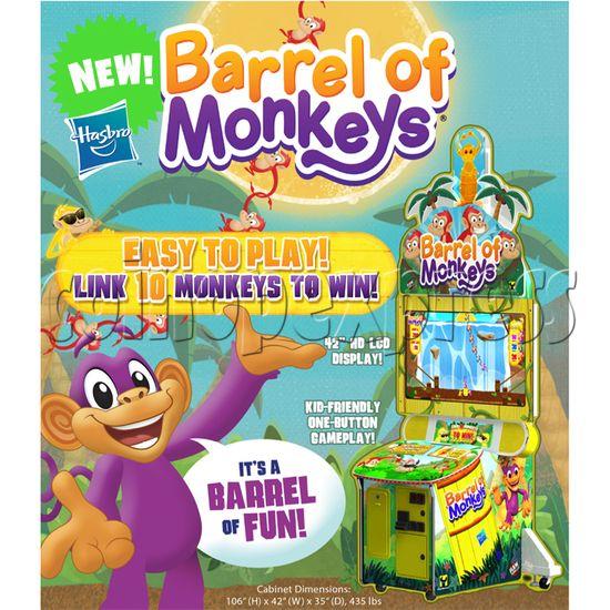 Barrel of Monkeys Video Redemption Game 32718