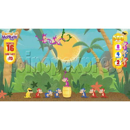 Barrel of Monkeys Video Redemption Game 32745