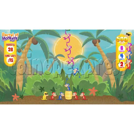 Barrel of Monkeys Video Redemption Game 32746