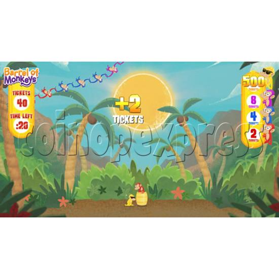 Barrel of Monkeys Video Redemption Game 32747