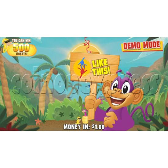 Barrel of Monkeys Video Redemption Game 32754