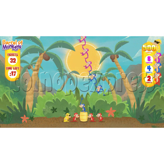 Barrel of Monkeys Video Redemption Game 32755