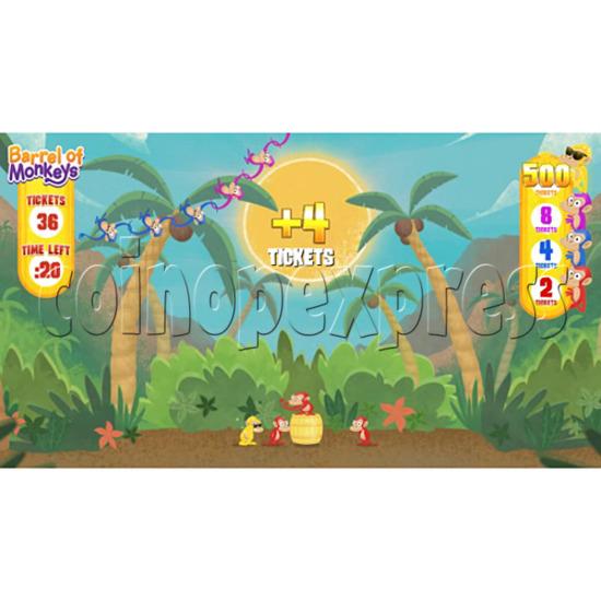 Barrel of Monkeys Video Redemption Game 32756
