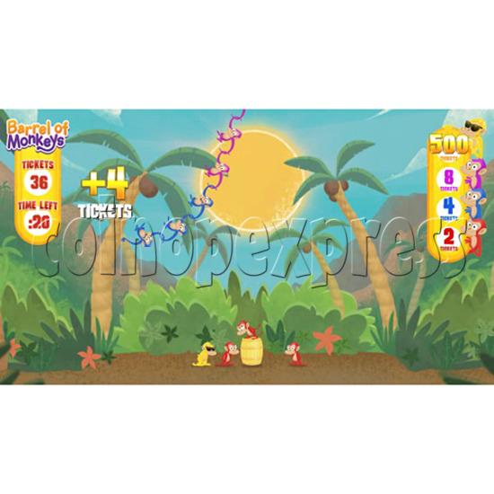 Barrel of Monkeys Video Redemption Game 32757