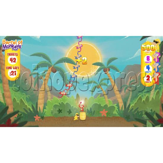 Barrel of Monkeys Video Redemption Game 32758