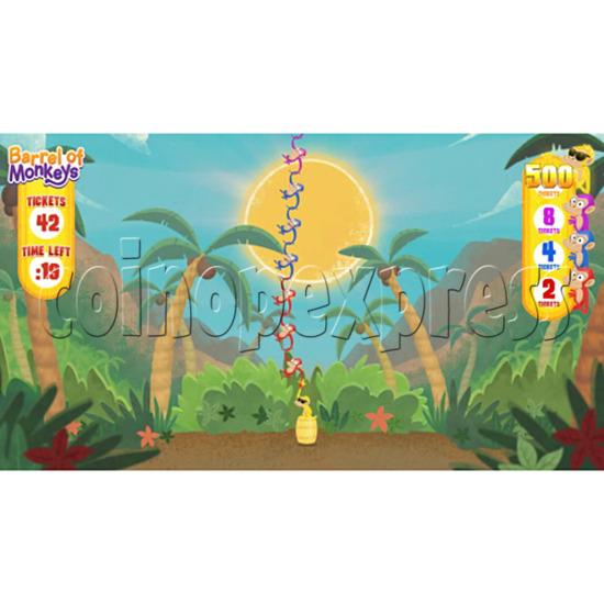 Barrel of Monkeys Video Redemption Game 32759