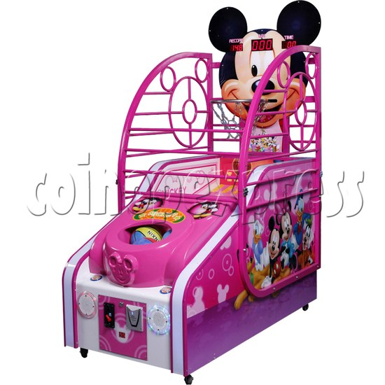 Cute Mouse Foldaway Basketball Machine for kids 32760